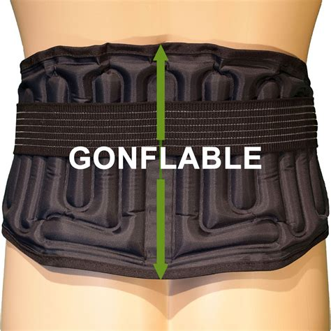 si鑒e gonflable ceinture lombaire gonflable l4 l5 s1 airlomb