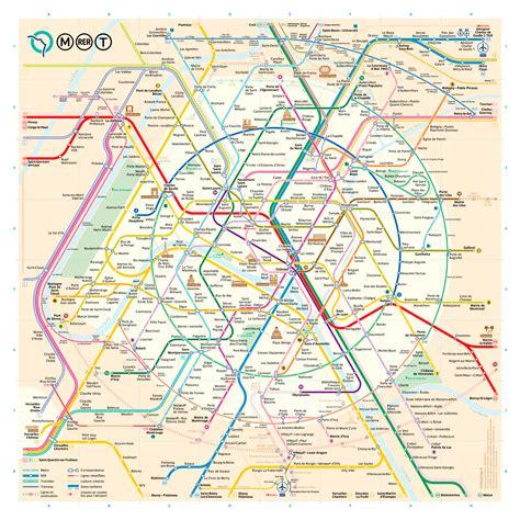 Carte Metro Rer by Un Nouveau Plan Du M 233 Tro De