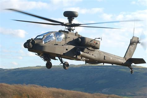 File:A British Army WAH-64 'Apache' attack helicopter