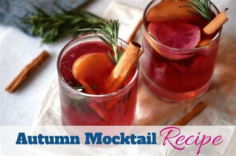 autumn mocktail recipe southern charm wreaths