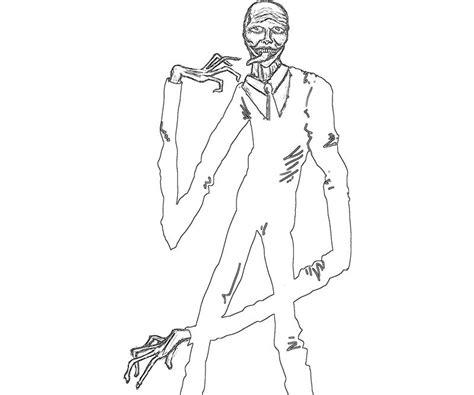 slender slender man character yumiko fujiwara