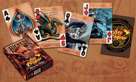 Dating back over a century, magicians around the world have used bicycle ® playing cards in their card magic routines. BICYCLE ANNE STOKES AGE OF DRAGONS PLAYING CARDS DECK FANTASY ART USA USPCC NEW   eBay