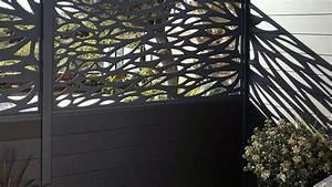 Panneau Brise Vue Aluminium : brise vue en aluminium ajour c t maison ~ Melissatoandfro.com Idées de Décoration