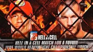 WWE Hell in a Cell 2014 - John Cena vs Randy Orton Hell in ...