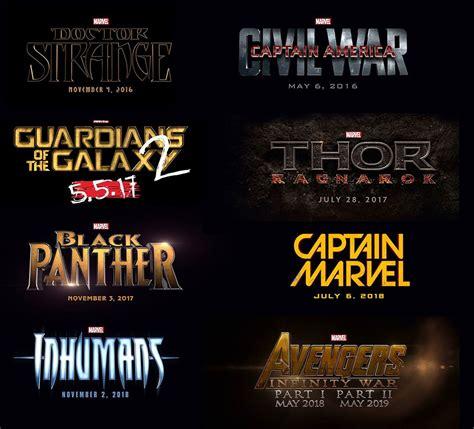 Marvel Black Panther Wallpaper Listado De Las Próximas Películas De Marvel Hasta El 2019 Enter Co