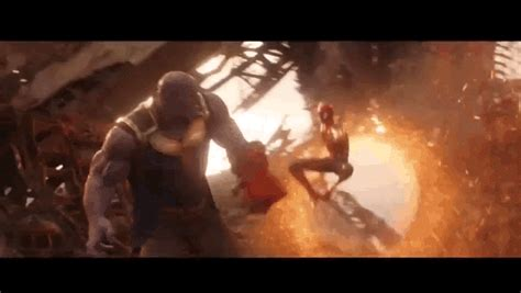 Watch Spider-man Kick Thanos In The Face In New Avengers