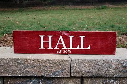 Sign Personalized 2ft Signs Date Wood Painted