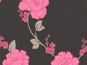 Images of black and pink floral wallpaper golfclub black and pink flower wallpaper wallpapersafari mightylinksfo