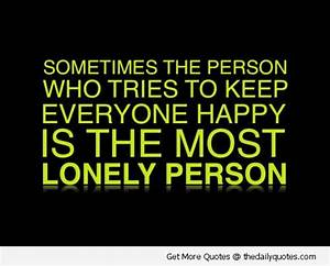 Lonely | The Daily Quotes