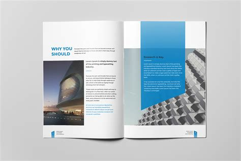corporate business brochure  pages   behance