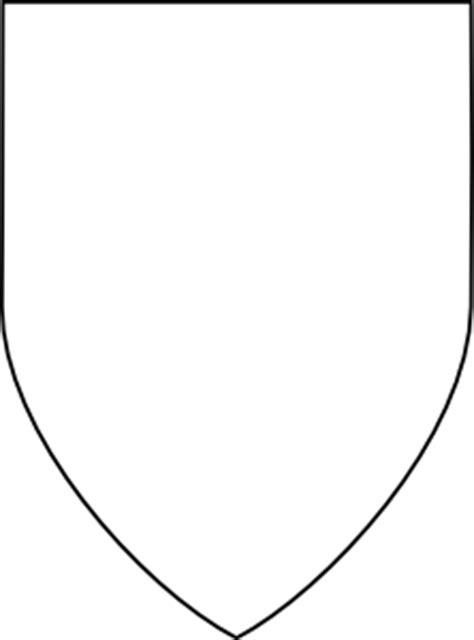 simple shield clip art  clkercom vector clip art