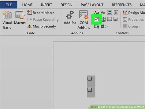 How To Insert A Check Box In Word 10 Steps (with Pictures