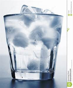 Ice water stock image. Image of close, drink, thirst ...