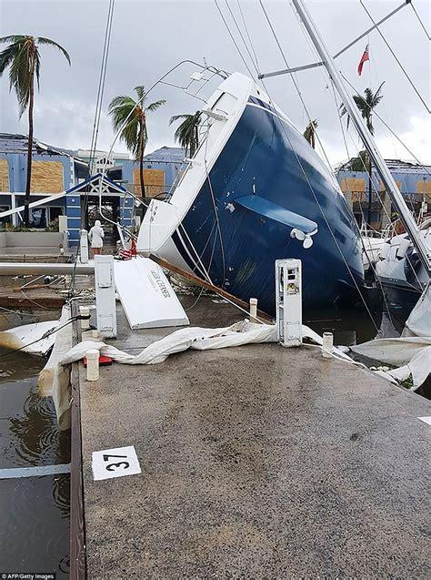 Hurricane Irma Tortola Boats by Hurricane Irma Hits Cuba Daily Mail Online