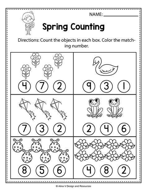 spring preschool worksheets activities abc palabras
