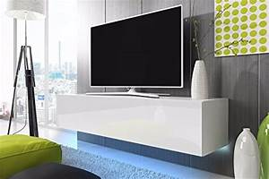 Tv Schrank Weiß Matt : tv schrank lowboard h ngeboard simple mit led blau wei matt wei hochglanz 160 cm smash ~ Bigdaddyawards.com Haus und Dekorationen
