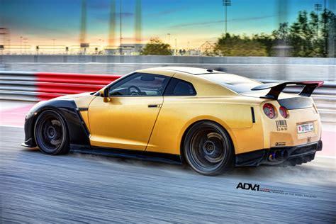 goldcarbon ams nissan gt   adv wheels gtspirit