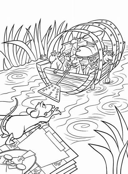 Ratatouille Coloring Pages Disney Coloringpages1001