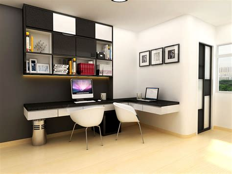 Home Study Room With Gym In