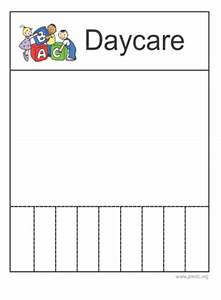 daycare flyer With daycare flyers templates free