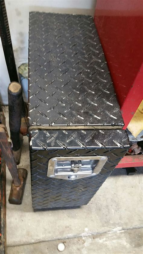 uws brand  drawer truck bed tool box small rat pack tool