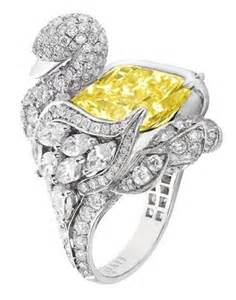 Graff Yellow Diamond Ring