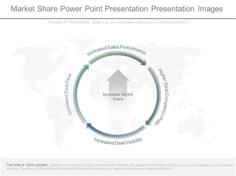 market share power point   images