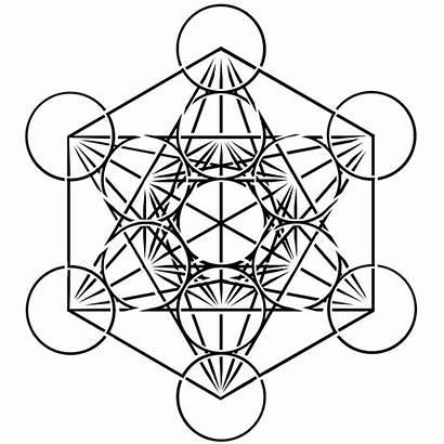 Cube Geometry Sacred Metatrons Tattoo Metatron Ratio