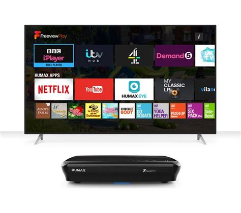HUMAX FVP-5000T Freeview Play Smart Digital TV Recorder ...