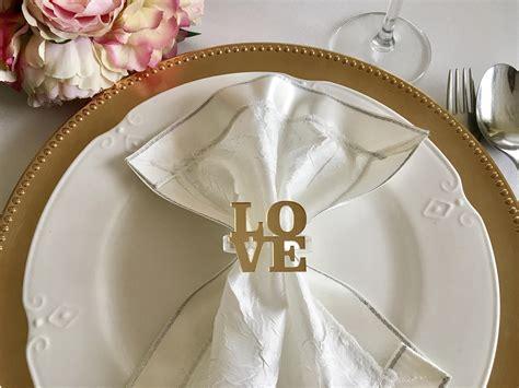 best wedding napkin rings photos 2017 blue maize