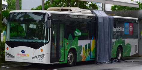 E-bus To Ply Public Route In Trial Lasting Six Months