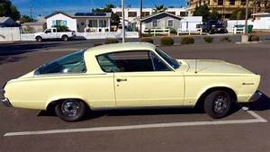 Fastback Valiant: 1966 Plymouth Barracuda