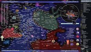 Star Trek Universe   2919x1960    Mapporn