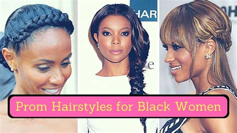Prom Hairstyles For Black Women (2018)