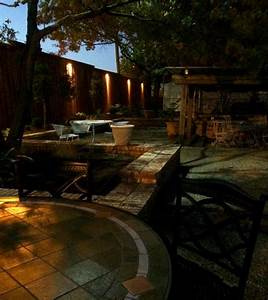 Best images about fence step wall lighting installation by dallas landscape on