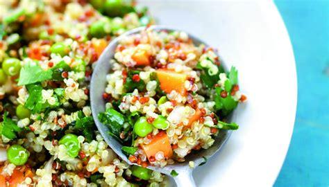 recettes de julie andrieu cuisine salade de quinoa orange et patate douce par julie andrieu