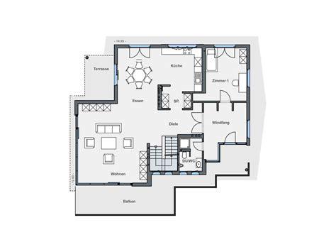 Grundriss Haus Am Hang by Einfamilienhaus Am Hang Grundrisse Wohn Design