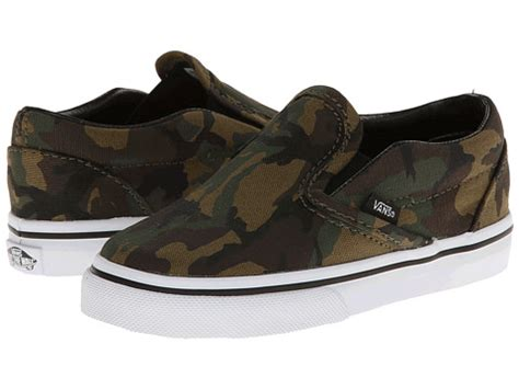 upc 732075194741 vans classic on toddler camo army green true white shoes