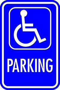 ADA Handicapped Parking Sign # 4 Appealing Signs