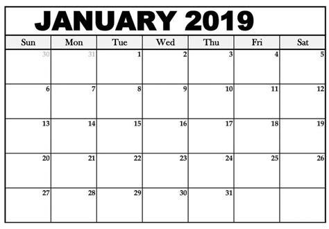 january  calendar printable schedule  calendar