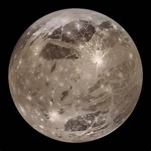 Ganymede, Jupiter's Largest Moon, Sports a Huge Bulge at ...