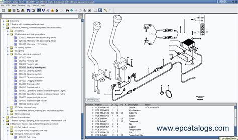 Volvo Construction Equipment Prosis Spare Parts Catalog