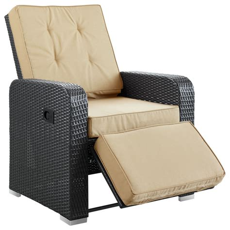 commence patio outdoor patio armchair recliner tropical