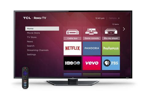 Shiny Black Tv Stand by First Look Roku Tvs From Hisense And Tcl Are Refreshingly
