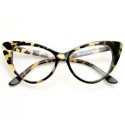 cat eye glasses frames 1950 s vintage mod fashion cat eye clear lens glasses zerouv