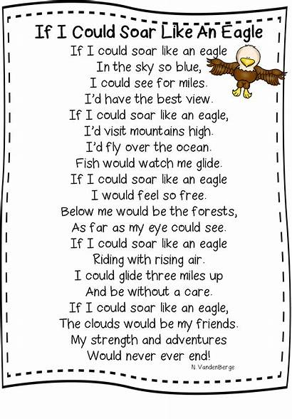 Eagles Soaring Leap Grade Into Hopping Poem
