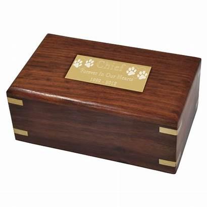 Urn Wooden Box Wood Cat Pet Urns