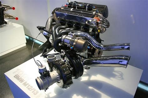 Bmw Inline 4 F1 Engine. 1.5ltrs 1500bhp 70, Yes 70 Psi Of