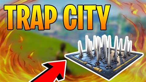 city  traps fortnite battle royale greasy grove trap
