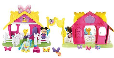 jouet et peluche maison de mickey